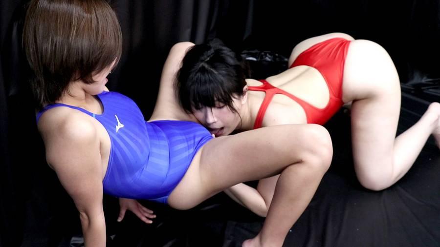 【HD】競泳水着レズビアン 2 サンプル画像03