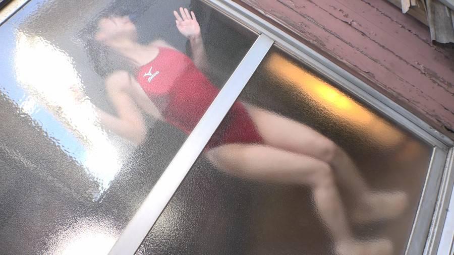【HD】競泳水着快楽我慢掃除&ふたなり競パン倒錯 「競泳水着愛好家 僕の競子」より サンプル画像03