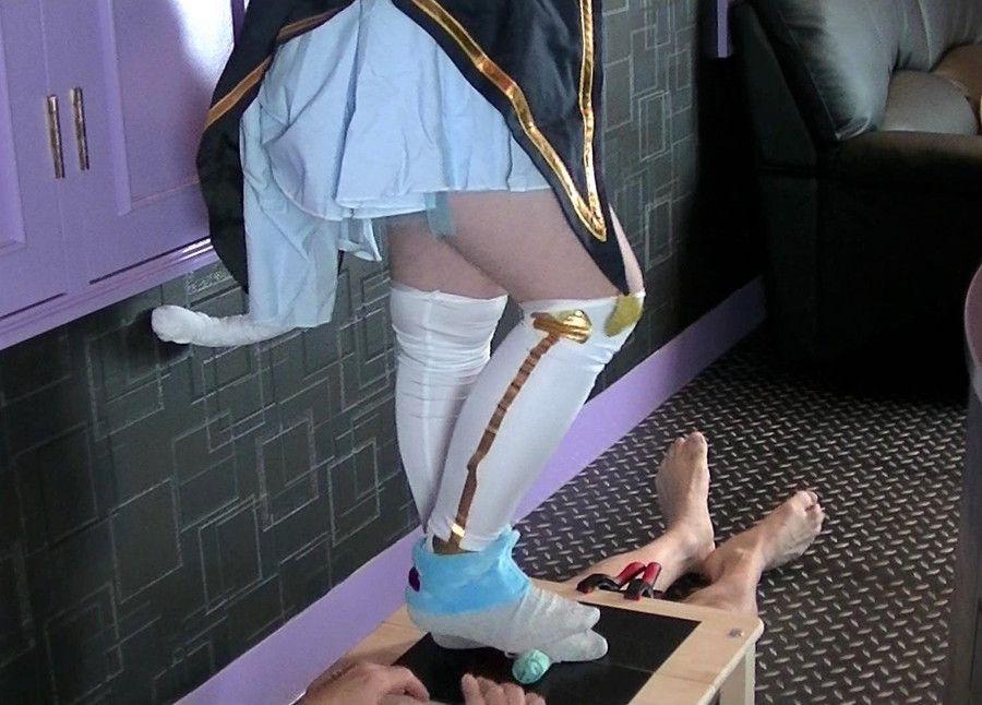 【HD】ツキ女王様のコスプレCBT統合版3 サンプル画像07