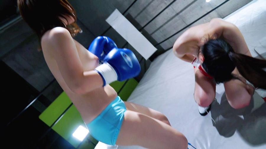 【HD】腹パンチ女子ボクシング 01【プレミアム会員限定】 サンプル画像09