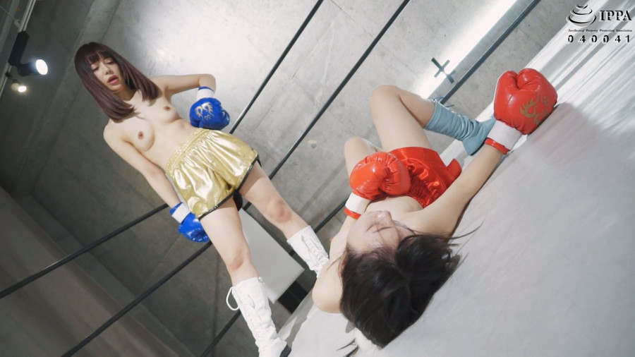 【HD】腹パンチ女子ボクシング 02【プレミアム会員限定】 サンプル画像01