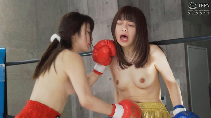 【HD】腹パンチ女子ボクシング 02【プレミアム会員限定】 サンプル画像05