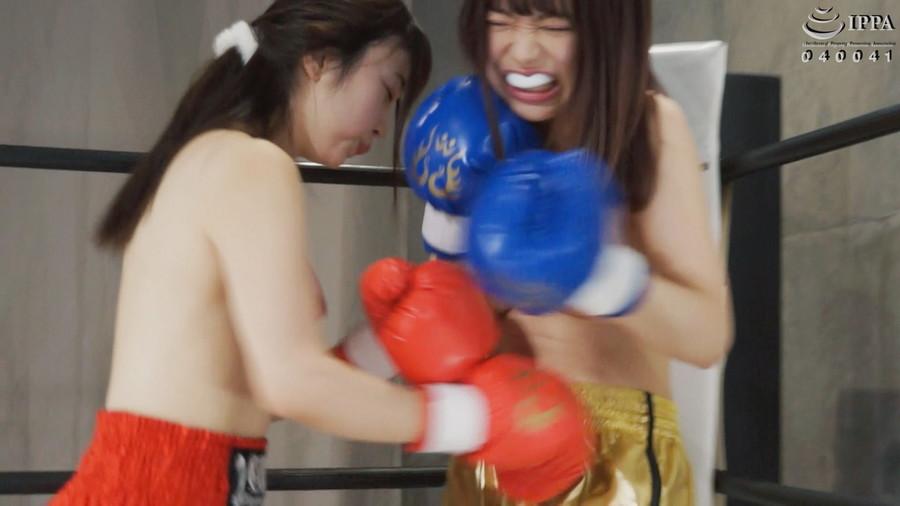【HD】腹パンチ女子ボクシング 02【プレミアム会員限定】 サンプル画像12