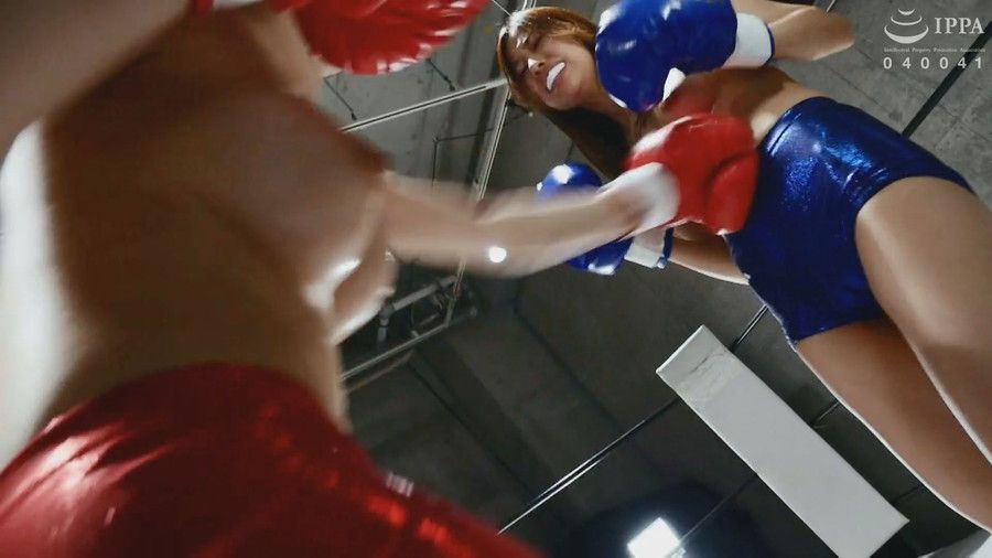 【HD】腹パンチ女子ボクシング 04【プレミアム会員限定】 サンプル画像03