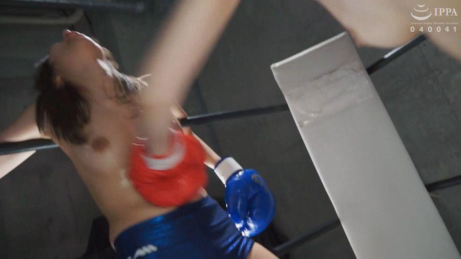 【HD】腹パンチ女子ボクシング 04【プレミアム会員限定】 サンプル画像12