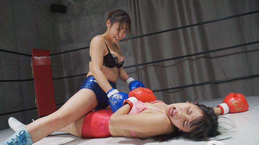 【HD】腹パンチアンダーグラウンド女子ボクシング 01【プレミアム会員限定】 サンプル画像03