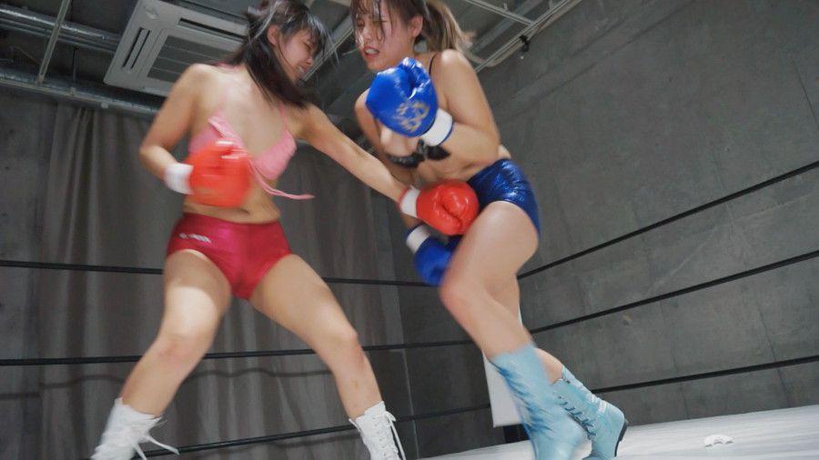 【HD】腹パンチアンダーグラウンド女子ボクシング 01【プレミアム会員限定】 サンプル画像04