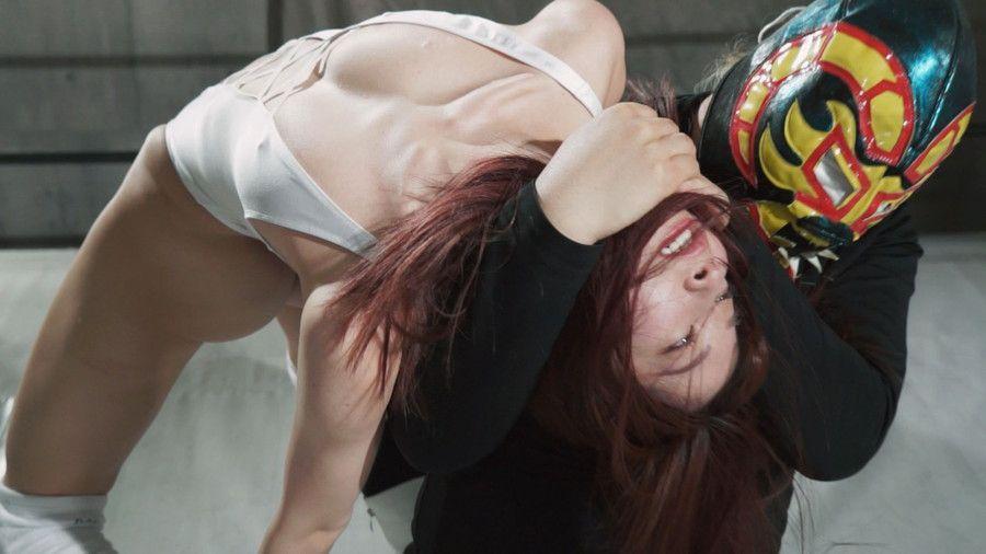 【HD】女子プロレスラードミネーション敗北 01【プレミアム会員限定】 サンプル画像02
