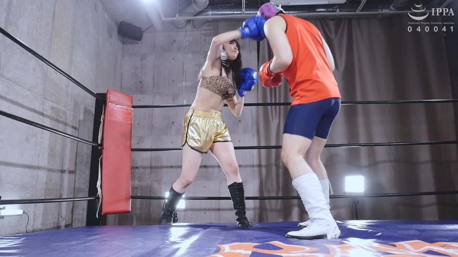 【HD】彼女とプライベートでエロボクシング02【プレミアム会員限定】 サンプル画像09
