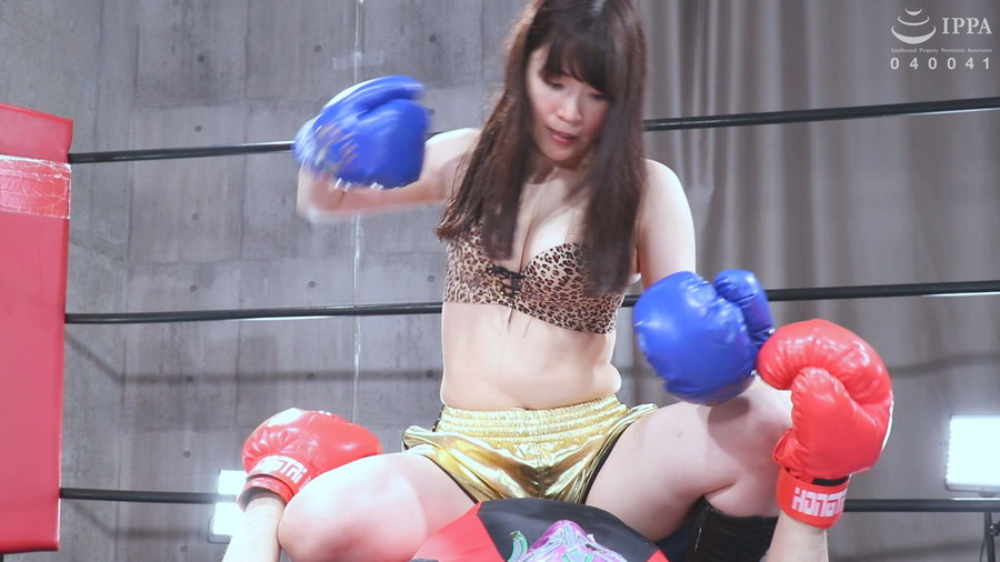 【HD】彼女とプライベートでエロボクシング02【プレミアム会員限定】 サンプル画像10