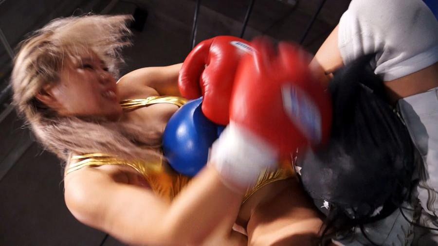 【HD】総合格闘技ミックスファイト女勝ち01 サンプル画像04