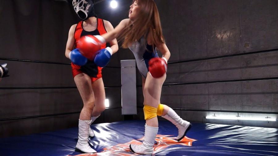 【HD】総合格闘技ミックスファイト女勝ち01 サンプル画像07