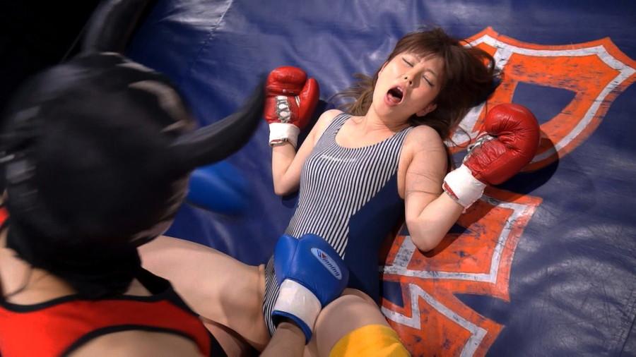 【HD】総合格闘技ミックスファイト女勝ち01 サンプル画像08