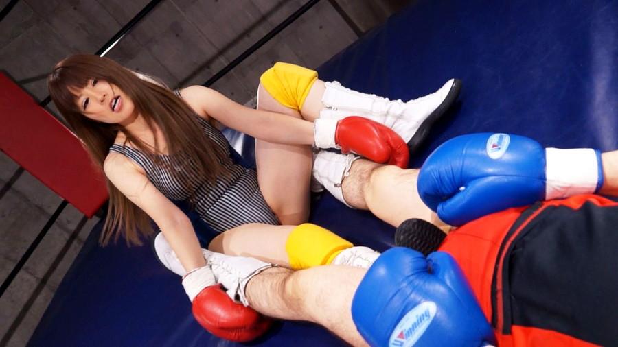 【HD】総合格闘技ミックスファイト女勝ち01 サンプル画像09