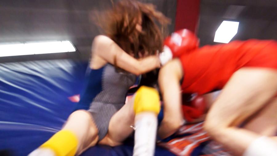 【HD】総合格闘技ミックスファイト女勝ち01 サンプル画像11