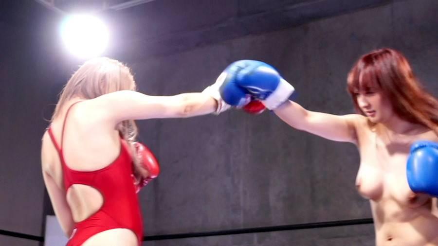 【HD】巨乳トップレスボクシング外伝3 -星空もあ 一人だけトップレスボクシング- サンプル画像03