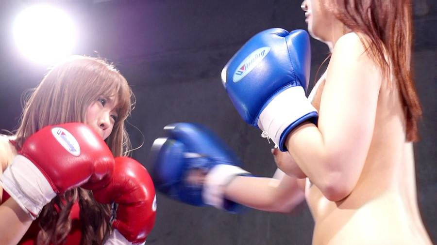 【HD】巨乳トップレスボクシング外伝3 -星空もあ 一人だけトップレスボクシング- サンプル画像06