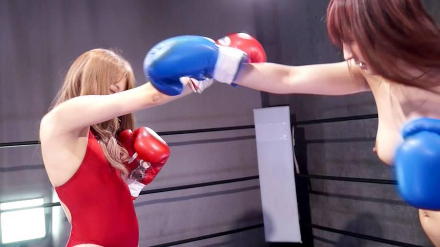 【HD】巨乳トップレスボクシング外伝3 -星空もあ 一人だけトップレスボクシング- サンプル画像08