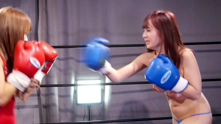 【HD】巨乳トップレスボクシング外伝3 -星空もあ 一人だけトップレスボクシング- サンプル画像09