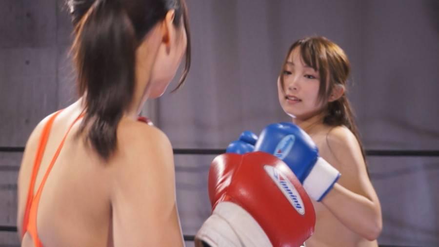 【HD】巨乳トップレスボクシング外伝4 -桐谷なお ひとりだけトップレスボクシング- サンプル画像01