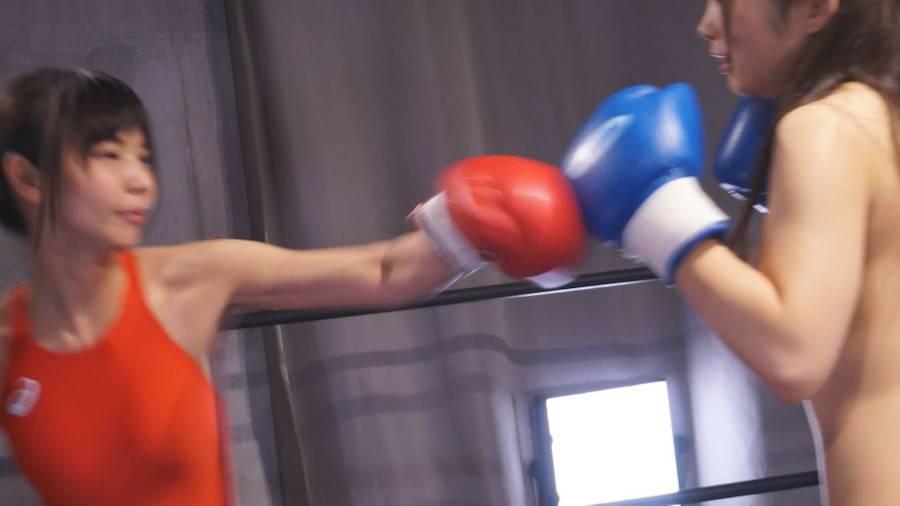 【HD】巨乳トップレスボクシング外伝4 -桐谷なお ひとりだけトップレスボクシング- サンプル画像03