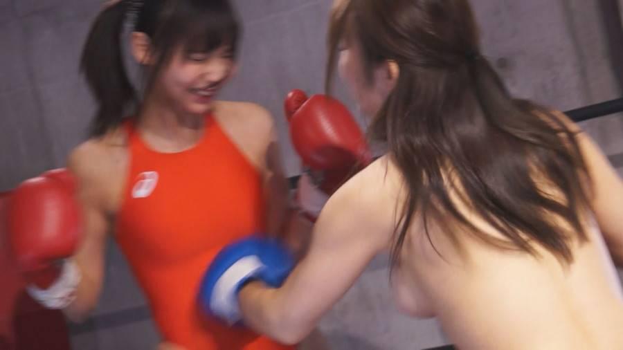【HD】巨乳トップレスボクシング外伝4 -桐谷なお ひとりだけトップレスボクシング- サンプル画像07