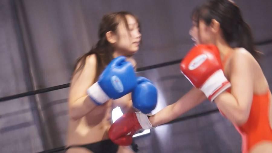 【HD】巨乳トップレスボクシング外伝4 -桐谷なお ひとりだけトップレスボクシング- サンプル画像08