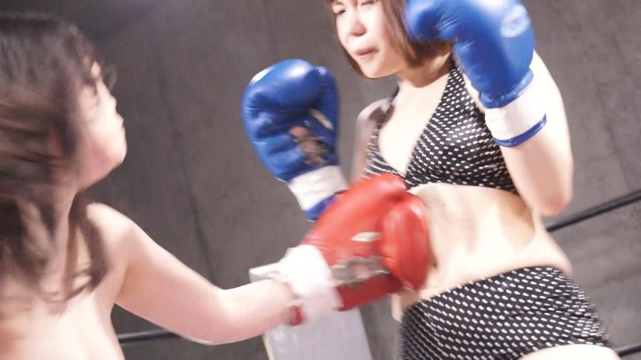 【HD】巨乳トップレスボクシング外伝8 -悠木りほ 一人だけトップレスボクシング-【プレミアム会員限定】 サンプル画像03