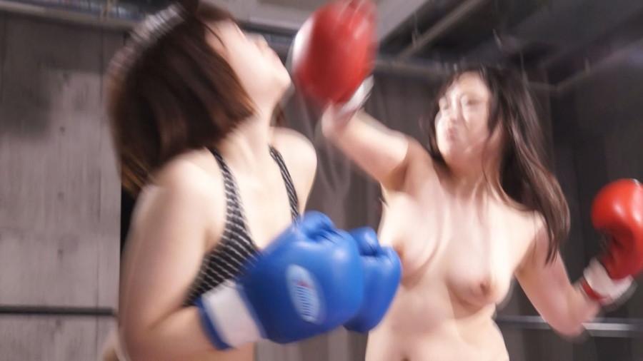 【HD】巨乳トップレスボクシング外伝8 -悠木りほ 一人だけトップレスボクシング-【プレミアム会員限定】 サンプル画像06