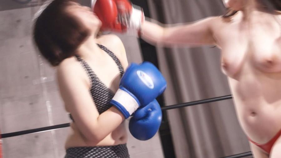 【HD】巨乳トップレスボクシング外伝8 -悠木りほ 一人だけトップレスボクシング-【プレミアム会員限定】 サンプル画像09