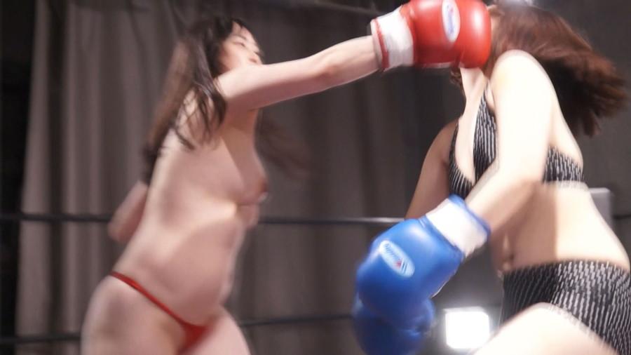 【HD】巨乳トップレスボクシング外伝8 -悠木りほ 一人だけトップレスボクシング-【プレミアム会員限定】 サンプル画像10
