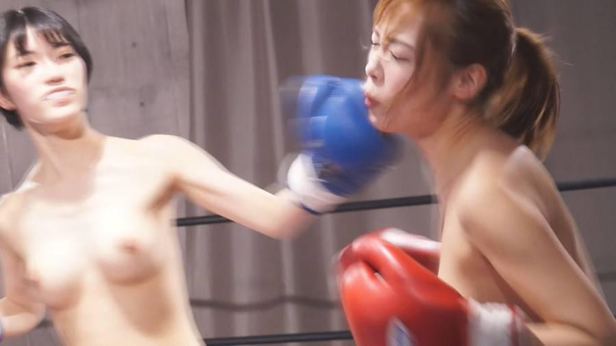 【HD】巨乳トップレスボクシング vol.2【プレミアム会員限定】 サンプル画像03