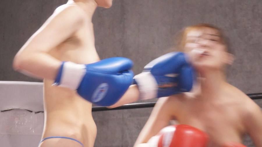 【HD】巨乳トップレスボクシング vol.2【プレミアム会員限定】 サンプル画像05