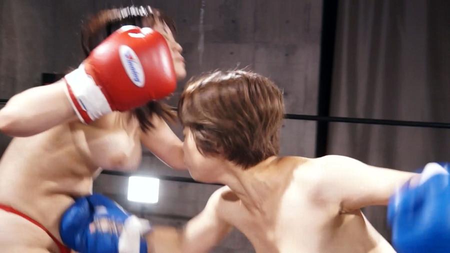 【HD】巨乳トップレスボクシング vol.3【プレミアム会員限定】 サンプル画像04