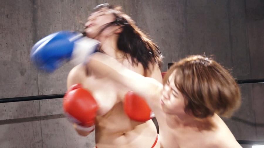 【HD】巨乳トップレスボクシング vol.3【プレミアム会員限定】 サンプル画像06