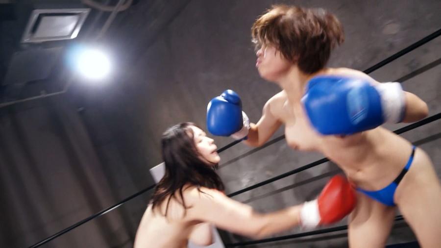 【HD】巨乳トップレスボクシング vol.3【プレミアム会員限定】 サンプル画像09