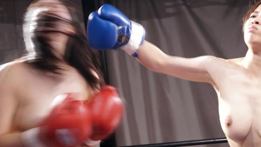 【HD】巨乳トップレスボクシング vol.3【プレミアム会員限定】 サンプル画像10