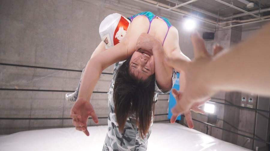 【HD】美少女レスラー陥落 -パートナーの前で堕ちるオンナ-vol.01 サンプル画像09