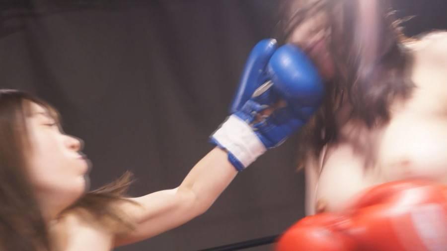 【HD】トップレスボクシングSPECIALファイト 1 サンプル画像05