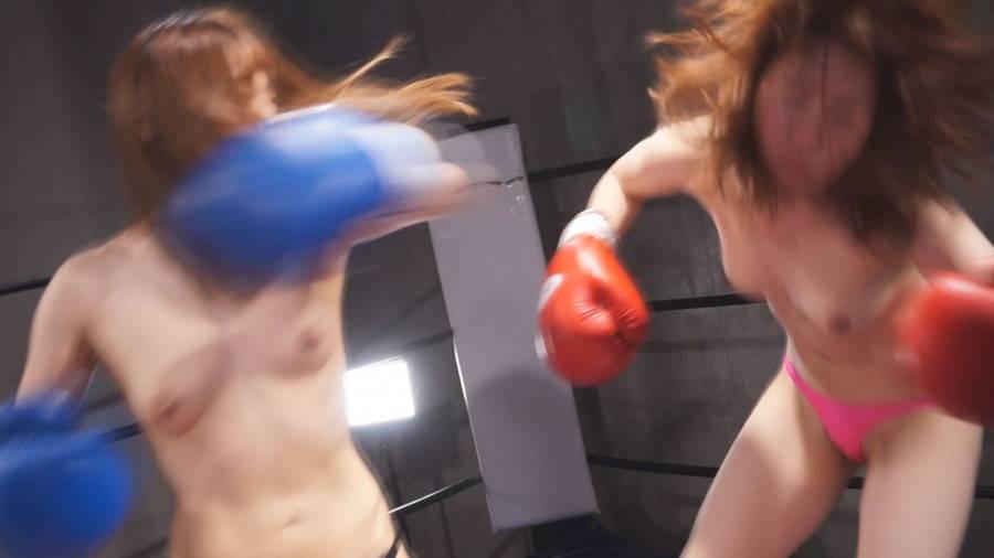 【HD】トップレスボクシングSPECIALファイト 3 サンプル画像03