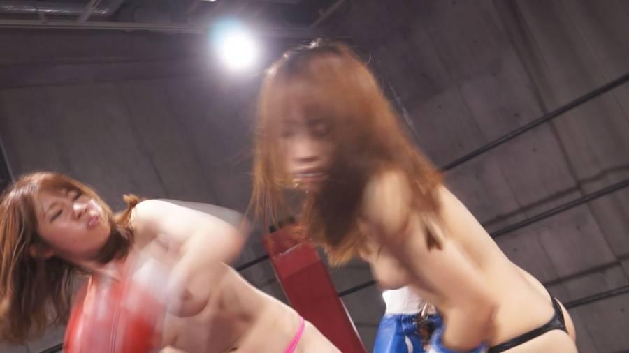 【HD】トップレスボクシングSPECIALファイト 3 サンプル画像08