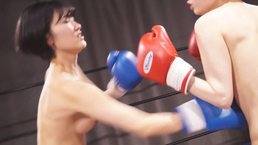 【HD】トップレスボクシングSPECIALファイト 6【プレミアム会員限定】 サンプル画像10