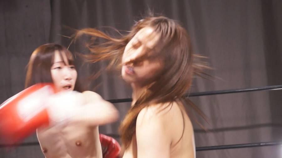 【HD】トップレスボクシングULTIMATE 1【プレミアム会員限定】 サンプル画像01