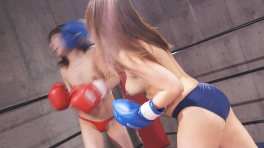 【HD】トップレスボクシングULTIMATE 1【プレミアム会員限定】 サンプル画像05