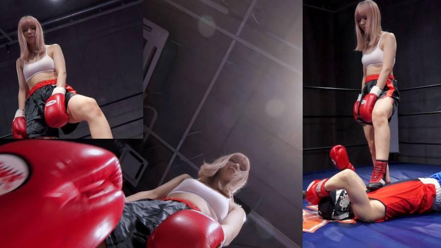 【HD】対面MIXボクシング 女勝ち 01 サンプル画像05