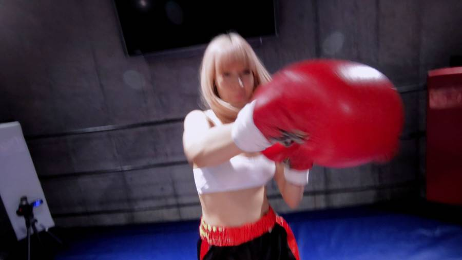 【HD】対面MIXボクシング 女勝ち 01 サンプル画像06