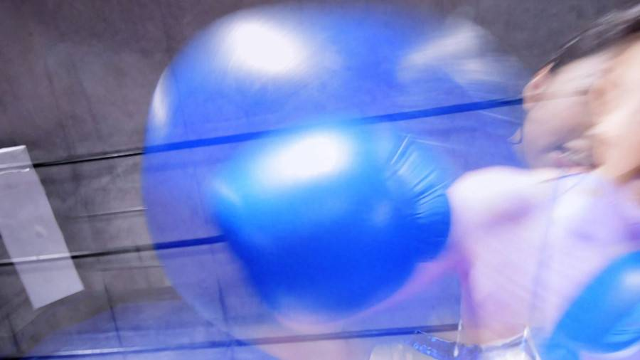 【HD】対面MIXボクシング 女勝ち 01 サンプル画像08