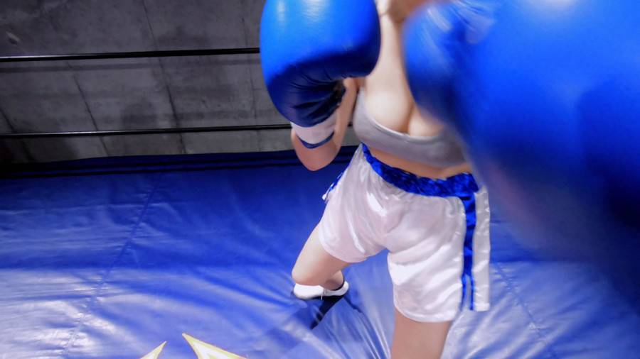 【HD】対面MIXボクシング 女勝ち 01 サンプル画像09