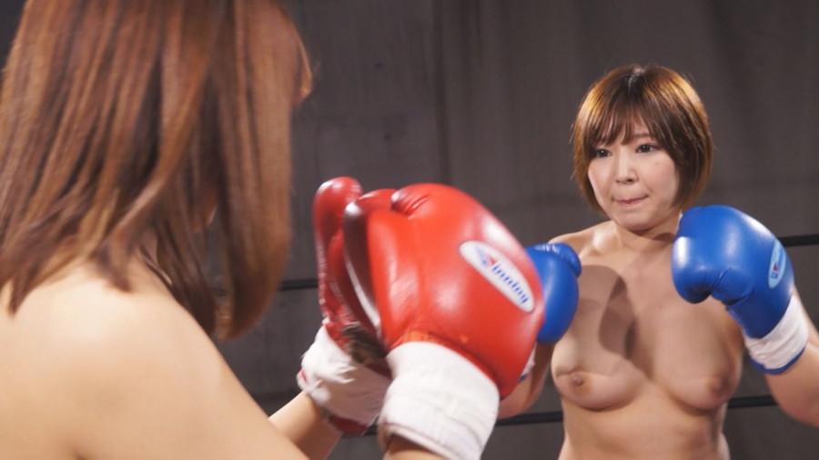 【HD】トップレスドミネーションボクシング 1 サンプル画像02