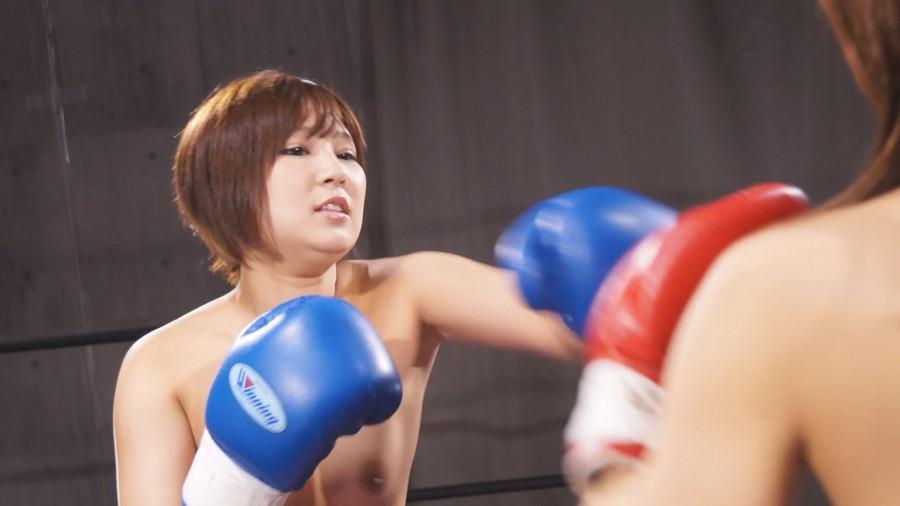 【HD】トップレスドミネーションボクシング 1 サンプル画像03
